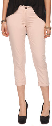 Forever 21 Essential Cuffed Ankle Pants