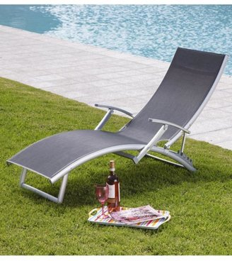4 Position Relaxing Chair - Black