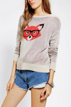 Urban Outfitters Coincidence & Chance Foxy Geek Sweater