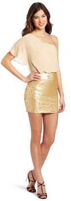 My Michelle Juniors Sequin Dress