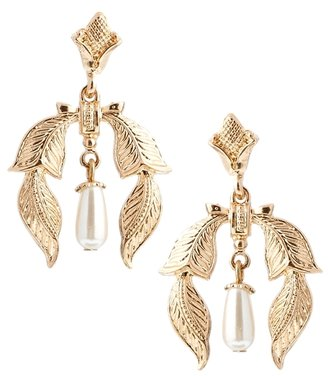 Asos Vintage Style Mini Faux Pearl Earrings