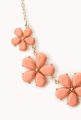 Forever 21 Sweet Side Floral Necklace