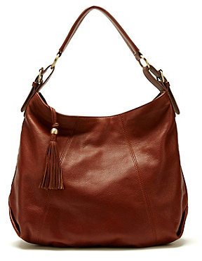 Lucky Brand Left Coast Leather Hobo