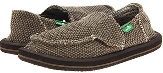 Sanuk Vagabond (Toddler/Little Kid) (Brown) Boys Shoes