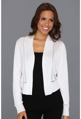 Jones New York Shrug Cardigan (JWhite) - Apparel