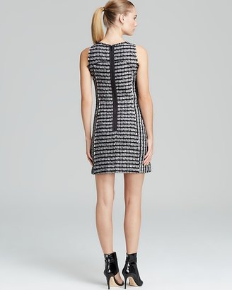 Milly Dress - Geo Tweed