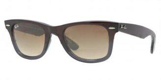 Ray-Ban RB2140 824/51 Wayfarer Sunglasses in Brown Gradient