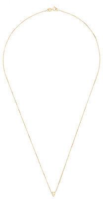 J.Crew MociunTM 14k triangle diamond necklace