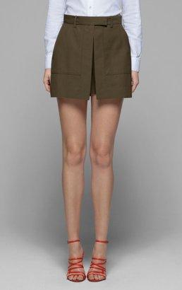 Theory Caslyn W Skirt in Jubilee Stretch Cotton
