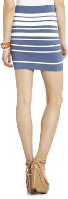 BCBGMAXAZRIA Simone Gradient Stripe Skirt