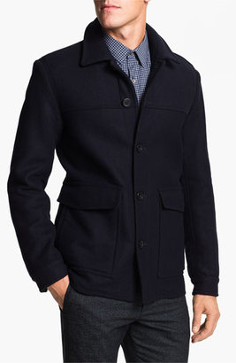 Theory Wool & Cashmere Blend Coat Medium