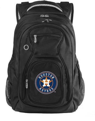 Houston astros 17 1/2-in. laptop backpack