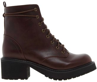 Asos APART Lace Up Ankle Boots