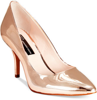 INC International Concepts Womens Zitah Pointed Toe Pumps, Only at Macy's $69.50 thestylecure.com