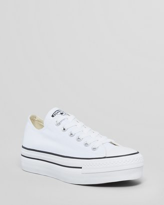 Converse Lace Up Platform Sneakers - All Star