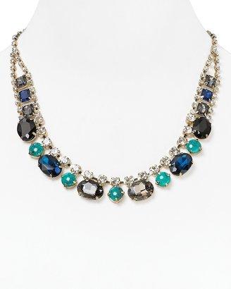 """Cara Accessories Small Bib Necklace, 19"""""""