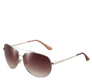Calvin Klein Metal Aviator Sunglasses