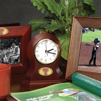 MEMORY Company Team Desk Clock - Texas Rangers