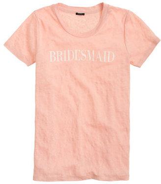 J.Crew Linen bridesmaid T-shirt