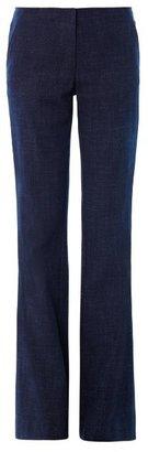 Veronica Beard High-rise wide-leg trousers