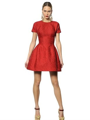 Dolce & Gabbana Cotton Jacquard Dress