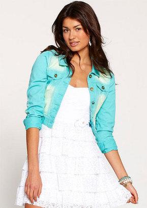 True Blue Pastel Denim Jacket