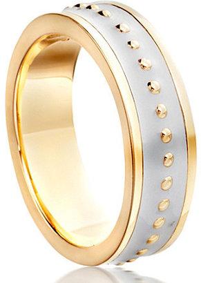 Astley Clarke Lavender enamel beaded ring