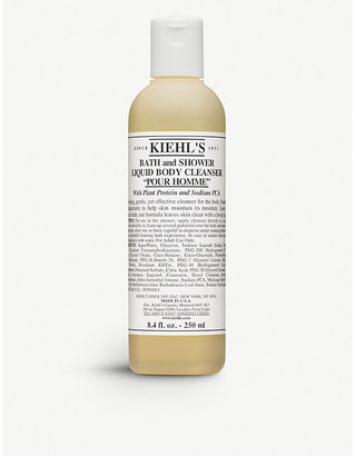 Kiehl's Pour Homme Bath and Shower Liquid Body Cleanser 250ml