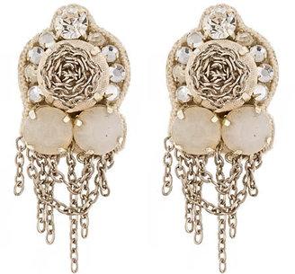 Suzanna Dai Bohemia Earrings in Blush
