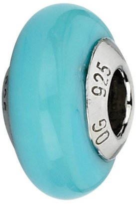Murano Prerogatives Sterling Aqua Italian Bead
