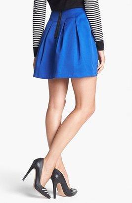 Kensie Pleated Miniskirt