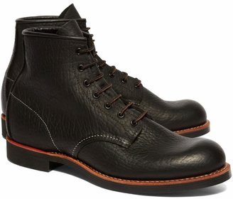 Brooks Brothers Red Wing for Black Bison Plain Toes