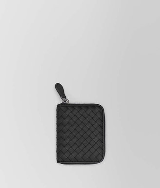 Bottega Veneta NERO INTRECCIATO NAPPA COIN PURSE