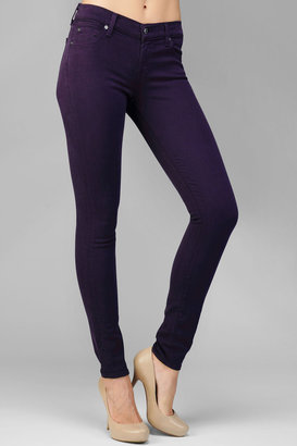 7 For All Mankind The Slim Illusion Skinny In Blackberry