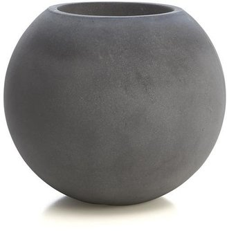 Crate & Barrel Large Ball Planter