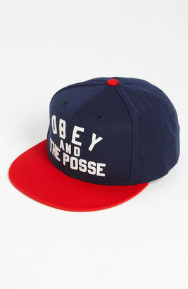 Obey 'Obey And The Posse' Snapback Baseball Cap