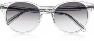 Prism Paris round-frame acetate sunglasses