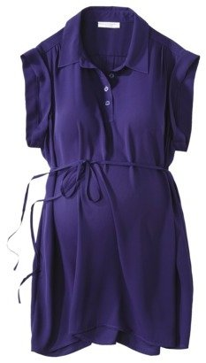 Liz Lange for Target® Maternity Sleeveless Woven Blouse - Purple Squeeze