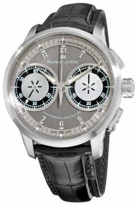 Maurice Lacroix Men's MP7128-SS001320 MasterPiece and Silver Dial Watch