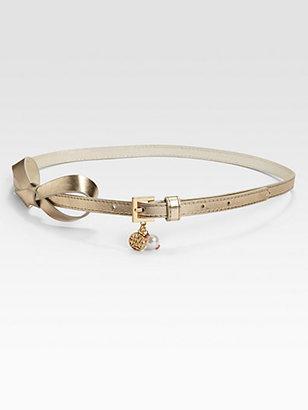 Lilly Pulitzer Metallic Bow Tie Belt