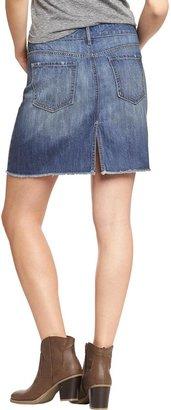 Old Navy Women's Distressed Denim Skirts