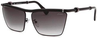 Lanvin Women's Cat-Eye Black Sunglasses