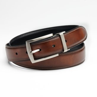 Croft & Barrow Feather-Edge Stitched Reversible Belt - Big & Tall