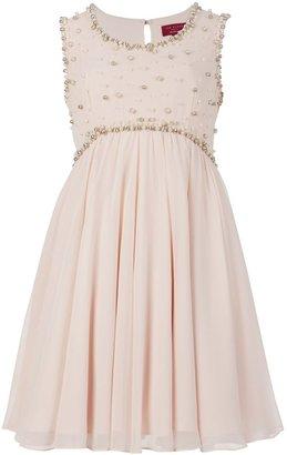 Ted Baker Davini embellished bust dress