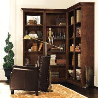 Ballard Designs Tuscan Corner Bookcase Set - 4 Piece