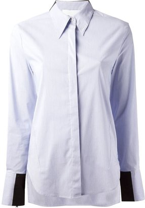 3.1 Phillip Lim panel detail shirt