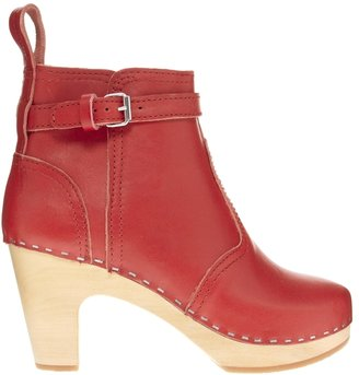Swedish Hasbeens High Heeled Jodphur Boot