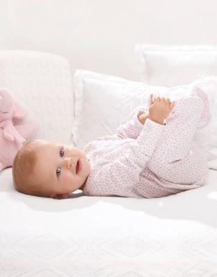 Ralph Lauren Newborn Girls 0-9 Months Floral-Print Footed Coveralls