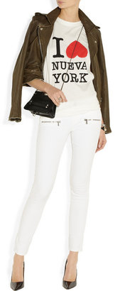 Paige Indio Zip mid-rise skinny jeans