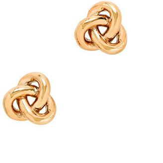 J.Crew Golden knot earrings